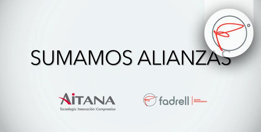 Aitana y Fadrell: Sumamos alianzas
